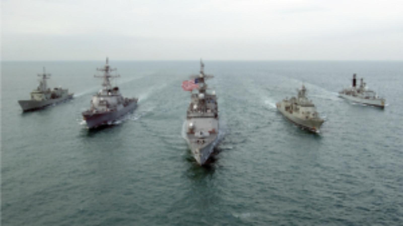 fifth fleet in open waters