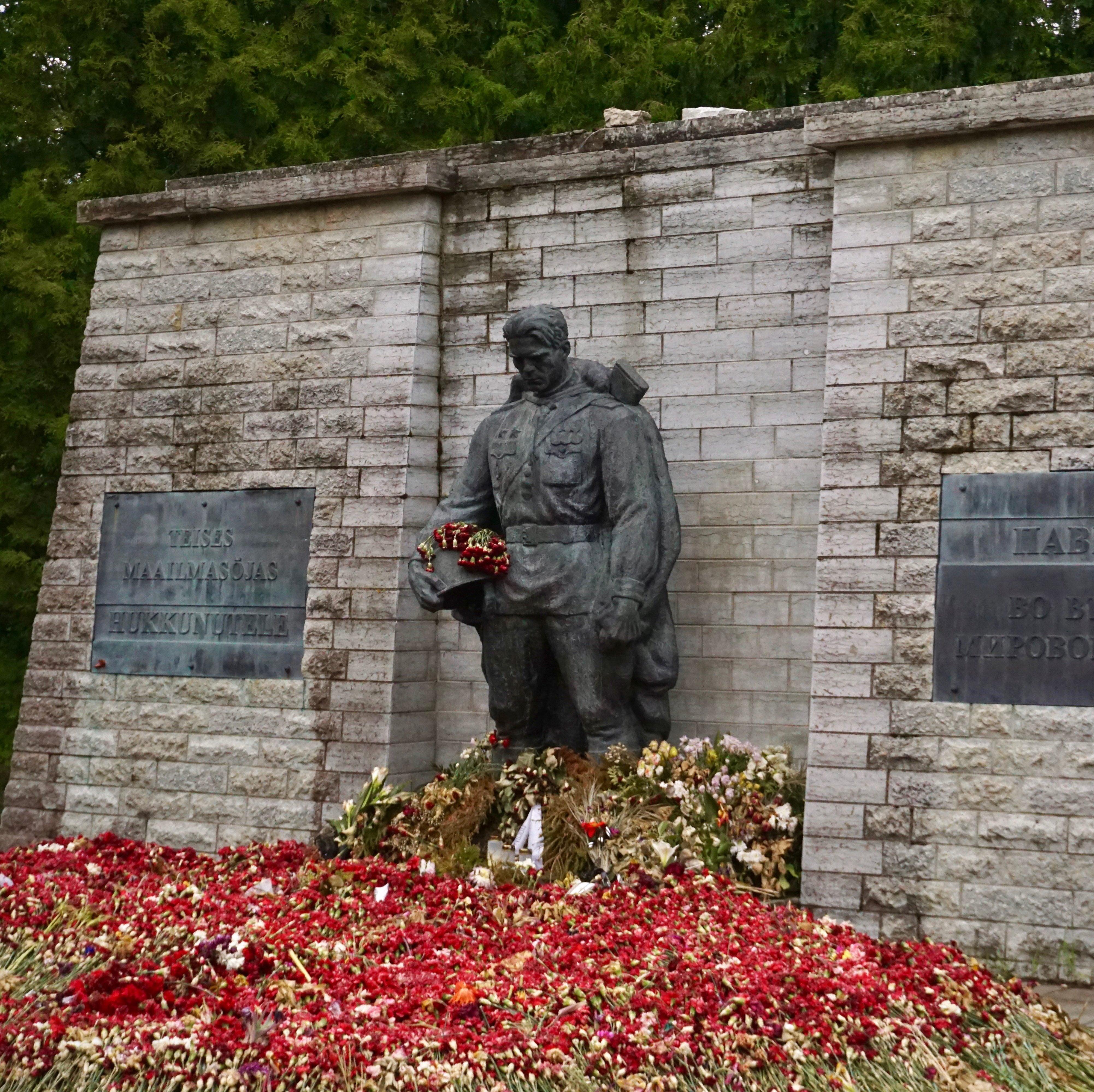 The Bronze Solder of Tallin in an Estonian cemetery