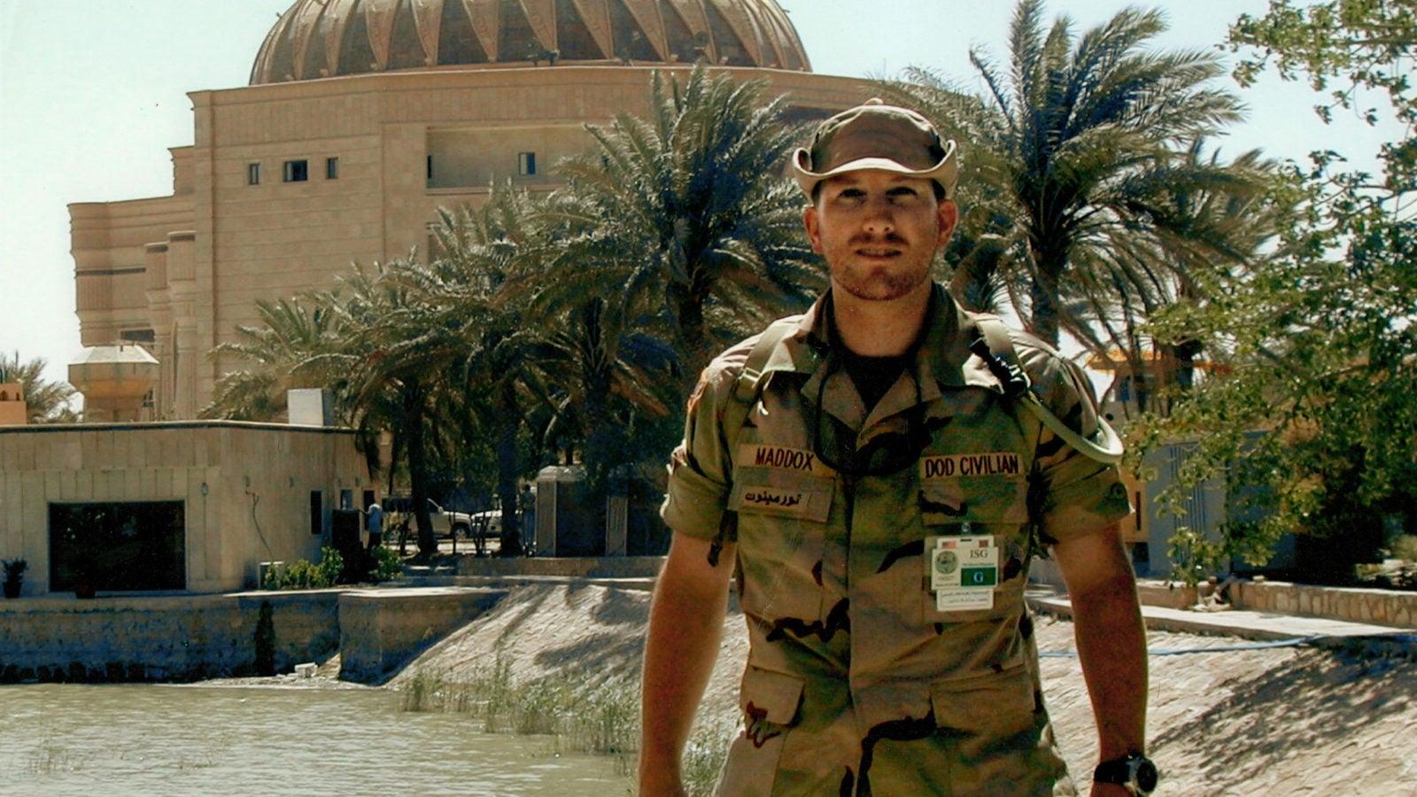 J.D. Maddox in Iraq