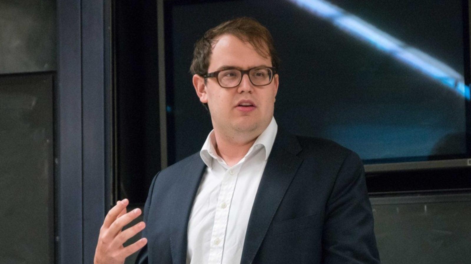 Professor Ben Buchanan speaks