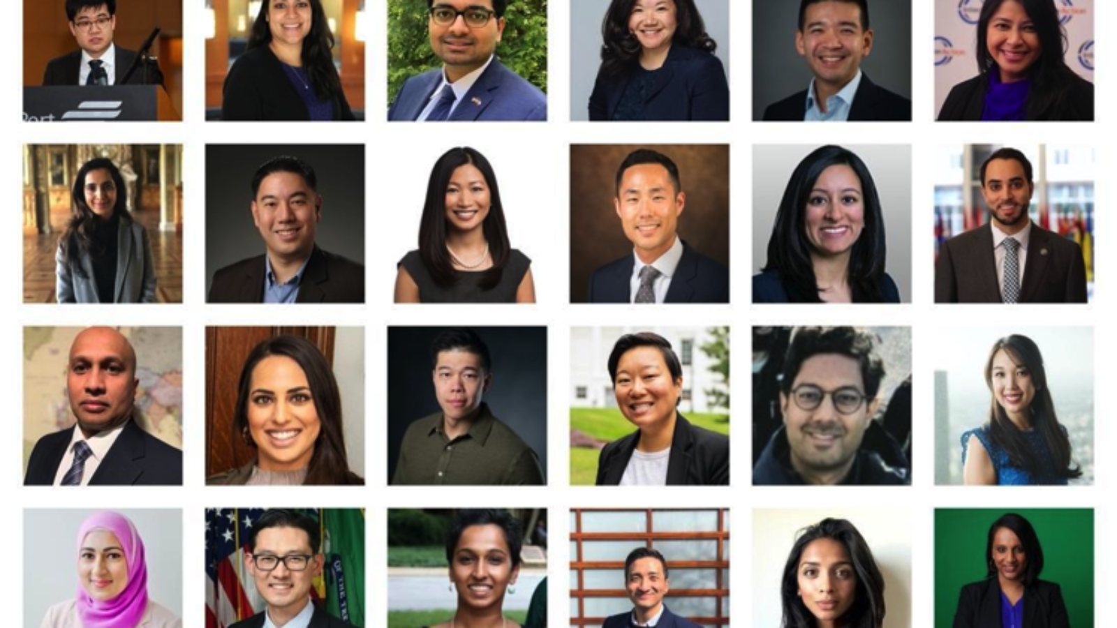 Tiled images of New America's Asian American Pacific Islander National Security & Foreign Policy Next Generation Leaders