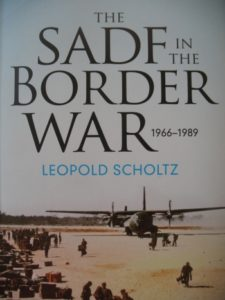 Cover of The SADF in the Border War