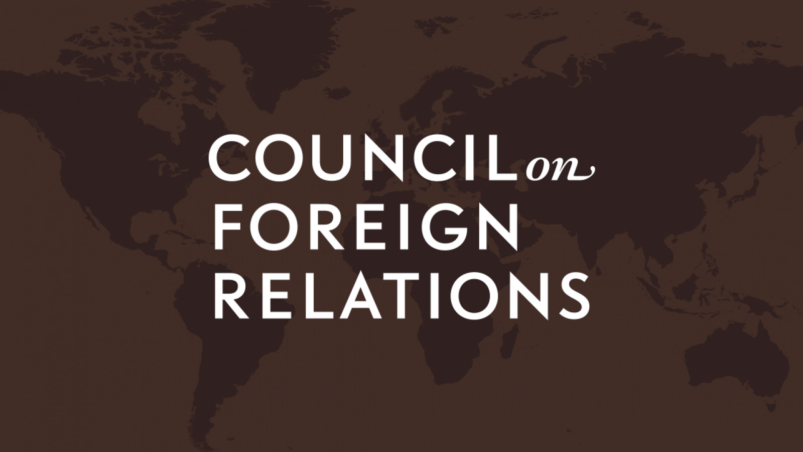 Logo for the Council on Foreign Relations
