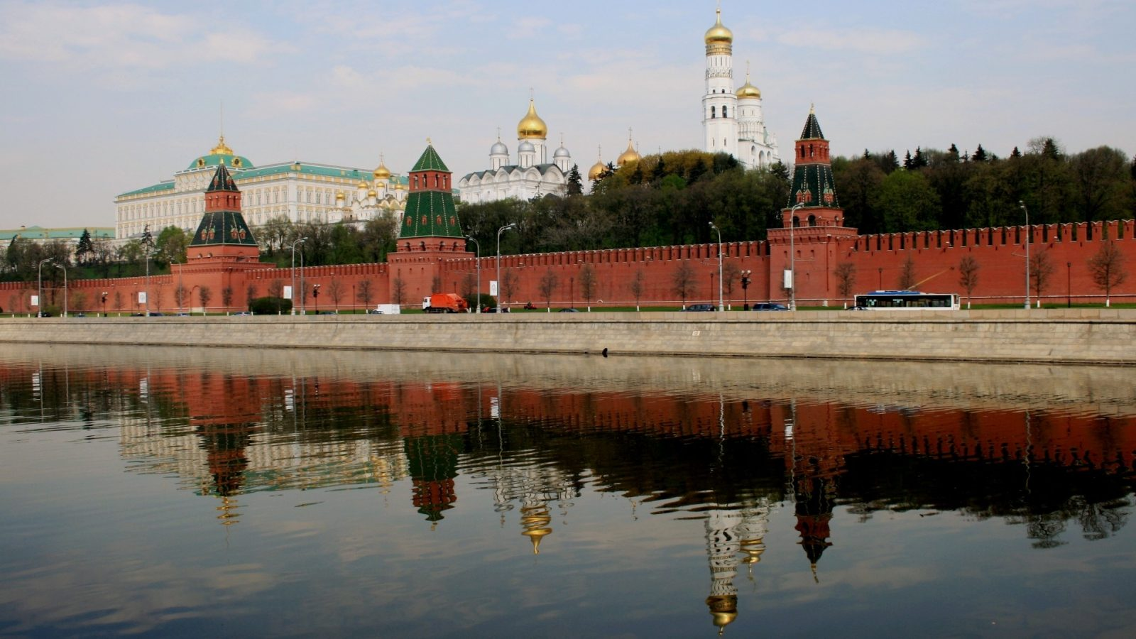 The Kremlin complex in Moscow